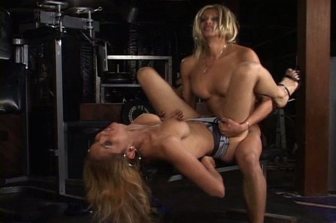 Tranny Sluts Vo D'balm And Colette Having Sex