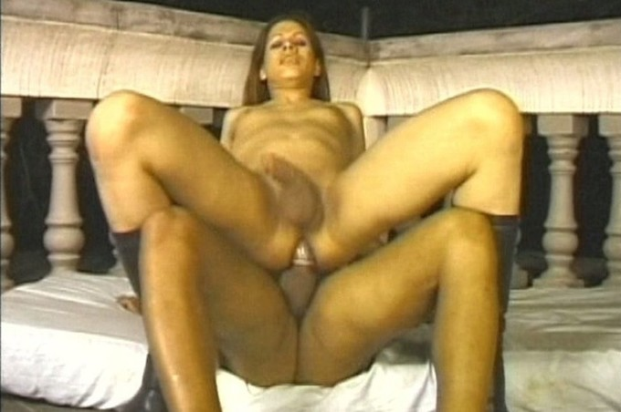 Tranny Elvira Sucks And Rides Dimas Hard Cock