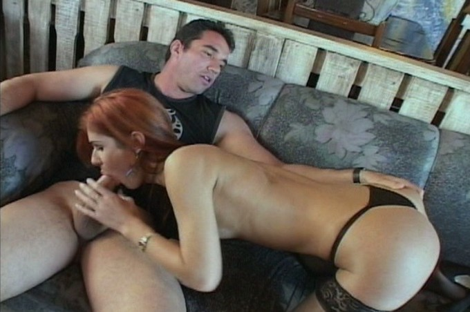 Ricardo Sinks His Big Cock In Isabela's Trans Ass